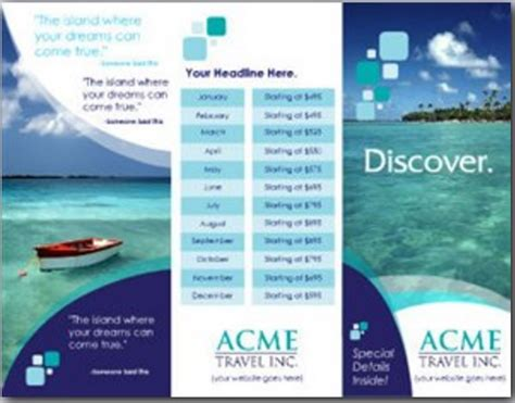 brochure template brother download tourist brochure template filehm