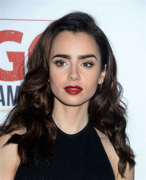 lily collins go campaign gala at hauser wirth and
