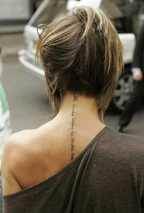 pics of the back of short hairstyles for women back view of short hairstyles for women