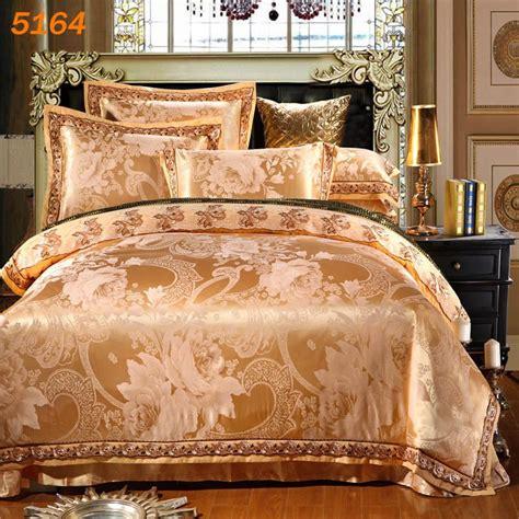 Bed Linens West Side Aliexpress Buy 2015 New Silk Bedding Set Golden