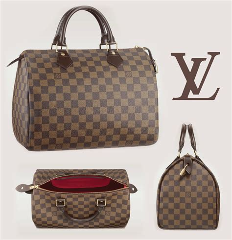 Lv Damier With louis vuitton damier ebene canvas speedy a side of vogue