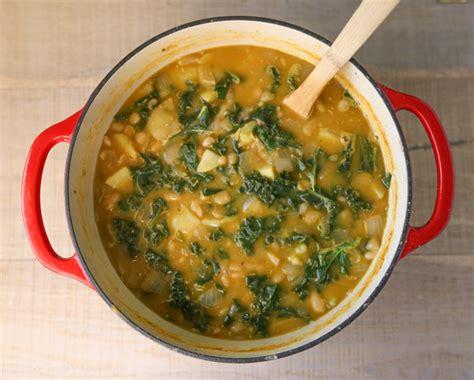 potato white bean kale vegan soup tastes lovely