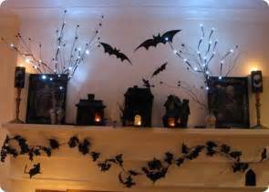 Halloween Decorations For Inside 50 Great Halloween Mantel Decorating Ideas Digsdigs