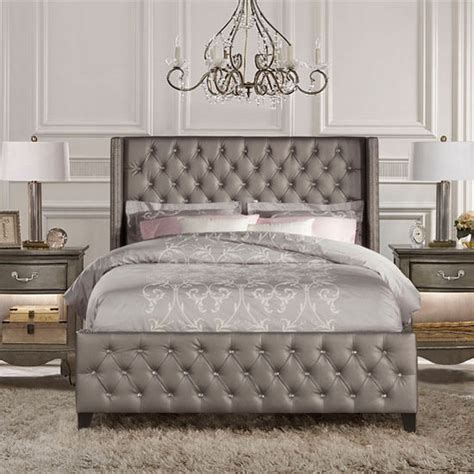 King Size Headboard And Footboard Sets by Or King Size Bed Set With Rails In