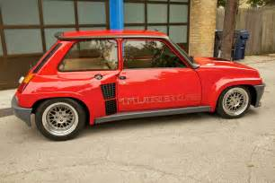 Renault Turbo Fab Wheels Digest F W D Renault 5 Turbo 1980 85