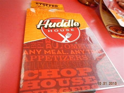 huddle house menu prices bacon cheeseburger picture of huddle house lancaster tripadvisor