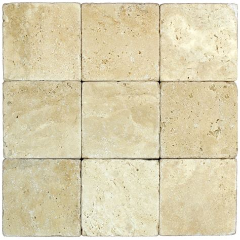 tumbled travertine bathroom white classic tumbled travertine mosaic tiles 4x4 stone