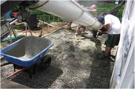 Ready Mix Patio Grout by Site Preparation Ideas American Ready Mix Concrete