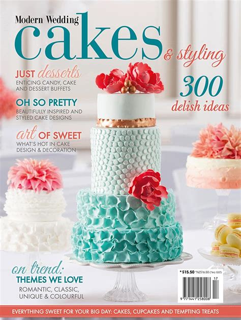 Wedding Cakes Magazine new modern wedding cakes styling magazine on sale