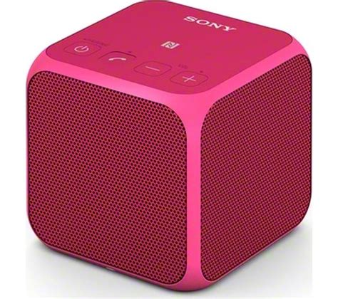 Speaker Mobil Carman Cm 442 buy sony srs x11p portable wireless speaker pink free delivery currys