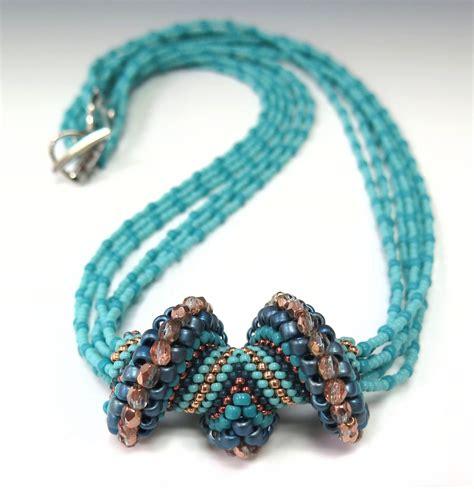 beaded necklace tutorial school wave crest necklace tutorial strand