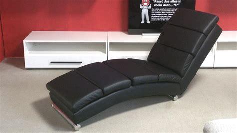 liege lounge relaxliege schwarz polsterliege liegesessel lounge liege