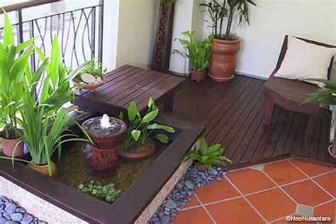 terrazzo zen e il balcone si trasforma in un angolo zen fiori e foglie
