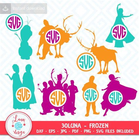 frozen svg files zeichentrickfilm pinterest plotten 25 best ideas about frozen silhouette on pinterest elsa