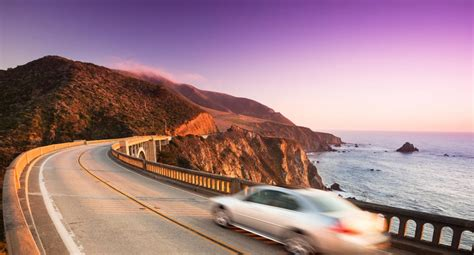 Pch Road - pacific coast highway west coast america road trip california