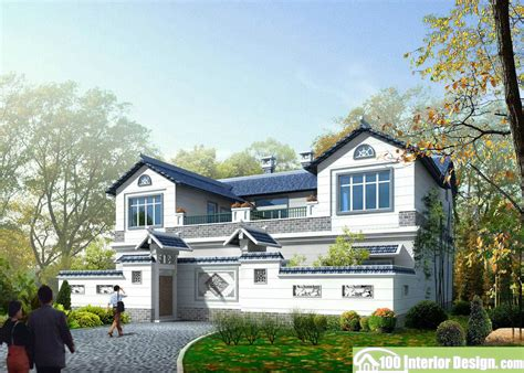 Courtyard Style House Plans by Chinese Classical Style House Design