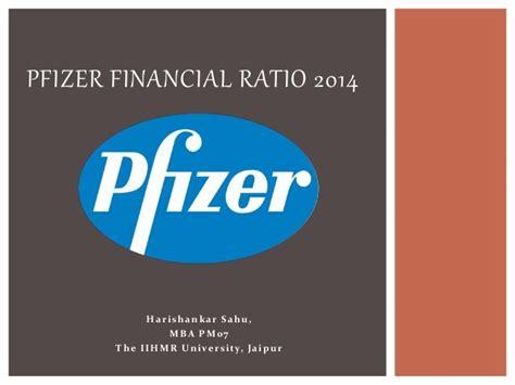Pfizer Mba by Pfizer Financial Ratio 2014