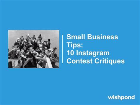 Handmade Business Tips Instagram For - small business tips 10 instagram contest critiques