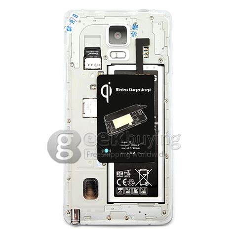 Note 5 Totu Ultrathin 0 1mm wireless charger module charging receiver for note 4 n9100