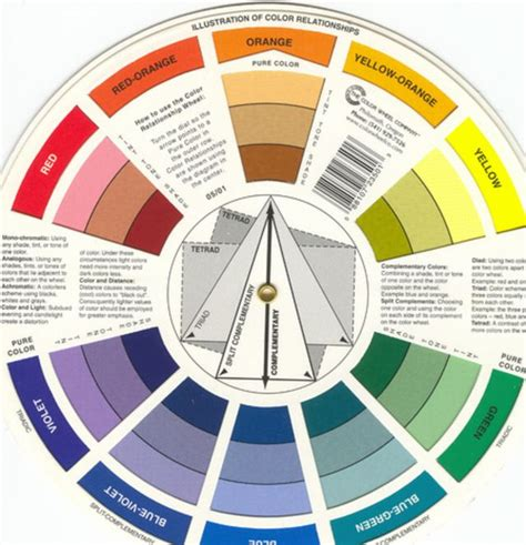 decorating color wheel home ideas