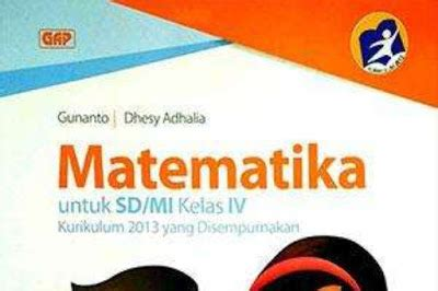 buku matematika kelas  sd kurikulum  sekolahsd