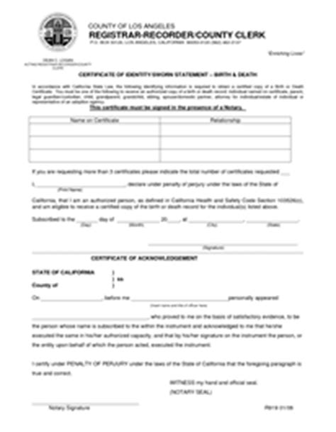 Los Angeles Marriage License Records California Marriage License Information Officiant Eric