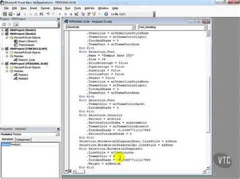 Tutorial Visual Basic Excel 2013 | microsoft excel 2013 tutorial 107 explore the visual basic
