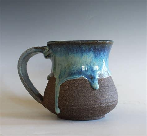 Ceramic Cup pottery mug 14 oz handmade ceramic cup handthrown mug