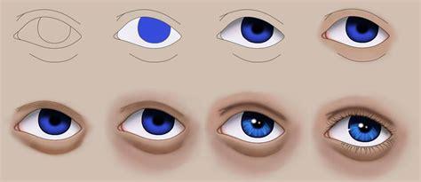 paint tool sai realistic eye tutorial semi realistic tutorial by welington guimaraes on