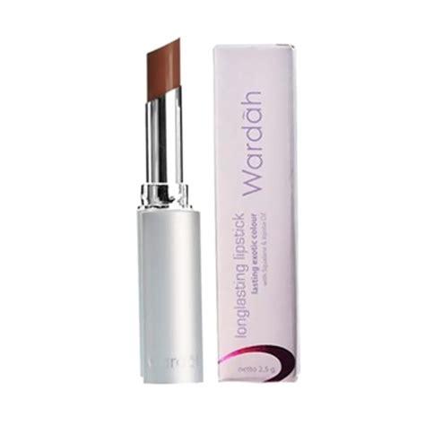 Wardah Lipstick Isi 8 Harga jual wardah lasting lipstick simply brown harga kualitas terjamin blibli