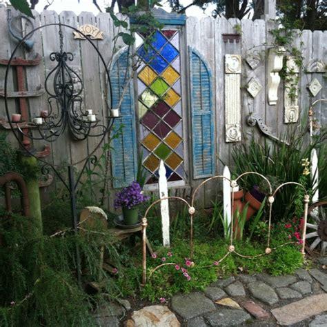 Eclectic Garden Decor by Eclectic Garden Vignette Garden Tour Outdoor Decor