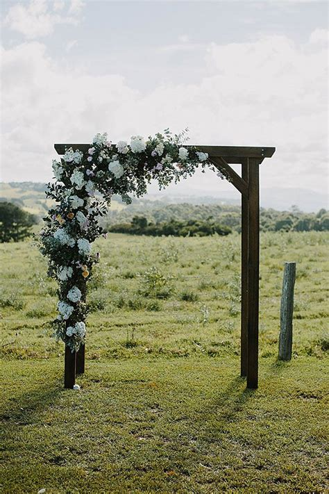 Wedding Arbor Rustic by Utterly Dreamy Formal Rustic Chic Byron View Farm Wedding