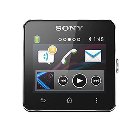 Sony Android Smartwatch 2 orologio android sony smartwatch 2 silicone nero