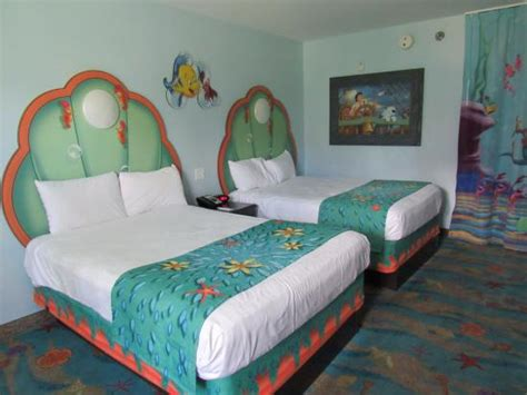 mermaid room the mermaid room beds picture of disney s of animation resort kissimmee tripadvisor