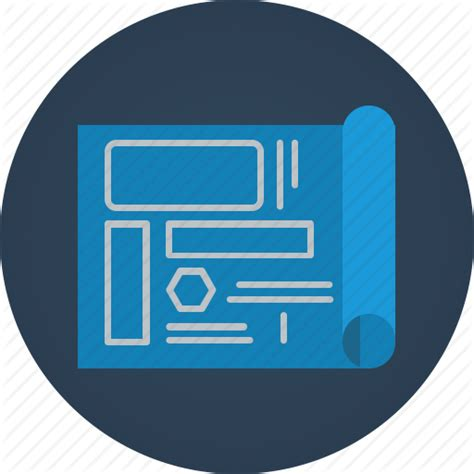 icon design model blueprint icon flat images