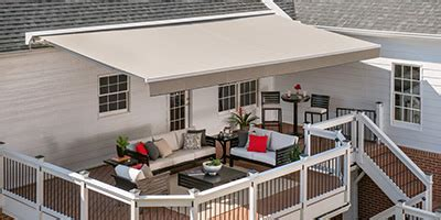 Sunbrella Window Awnings Retractable Awnings And More From Solair Shade Solutions