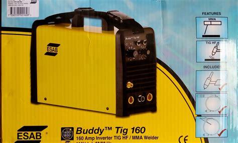Mesin Las Argon jual mesin las argon esab buddy tig 160 a mma bisa