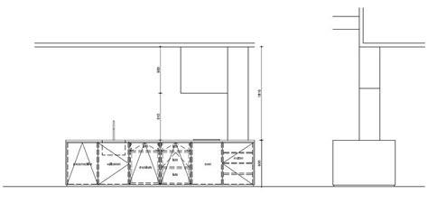 keuken tekening aanzicht keuken tekening door stam architecten 0514bubb