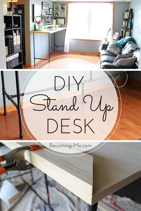 stand up desk diy best 25 stand up desk ideas on diy standing desk standing desks and sit stand desk