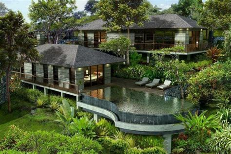 incredible houses amazing forest home with pool house and incredible pool