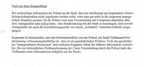 Fazit Schreiben Hausarbeit Muster Dortmund Stadt Wollte Antifac 2012 Genehmigen Ruhrbarone