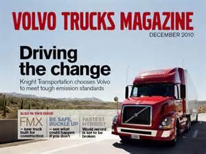 Volvo Magazine Volvo Trucks Magazine For Free Volvo