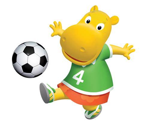 Backyardigans Soccer Characters