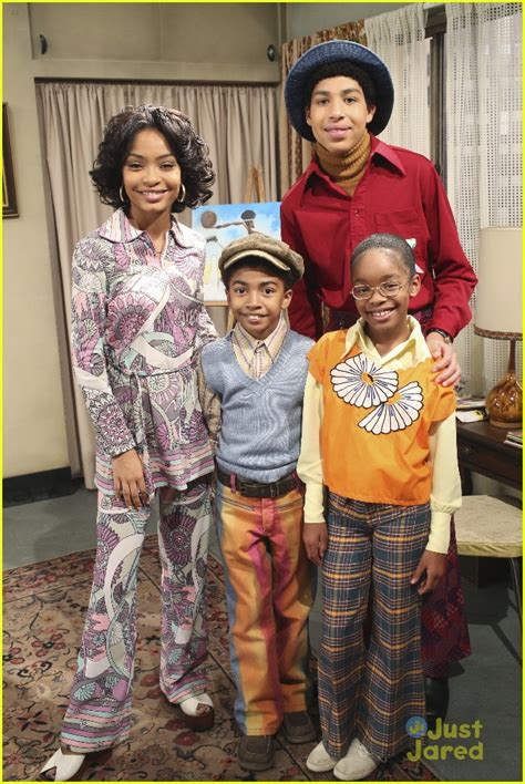 marcus scribner and his family yara shahidi marcus scribner head to the 70s for black