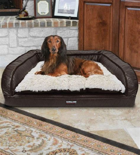 kirkland dog beds this kirkland signature pet bed features a foam filled