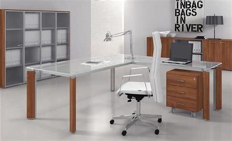 mesas de escritorio de madera mesas de escritorio de cristal