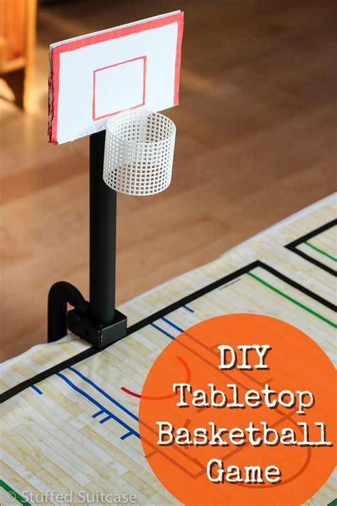 themes for basketball games diy tabletop basketball game fun basketball party ideas