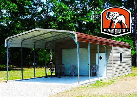 Metal Carport Structures Metal Sheds And Utility Carports For