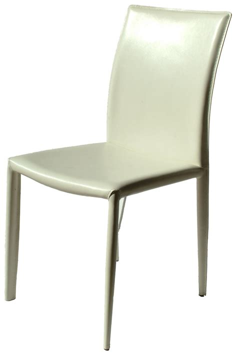 venice white leather dining chair chairs home furniture