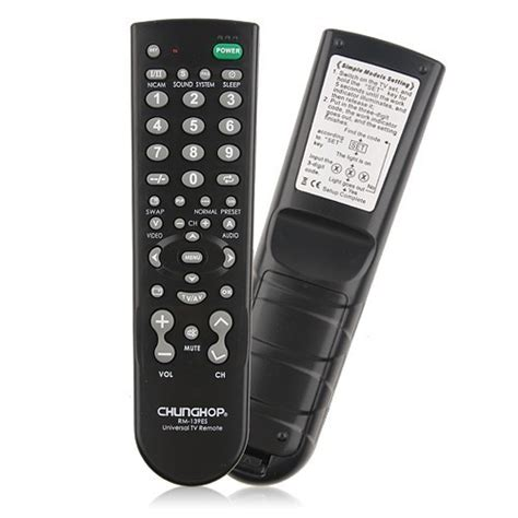 Chunghop Universal Tv Remote chunghop universal tv remote rm 139es black jakartanotebook